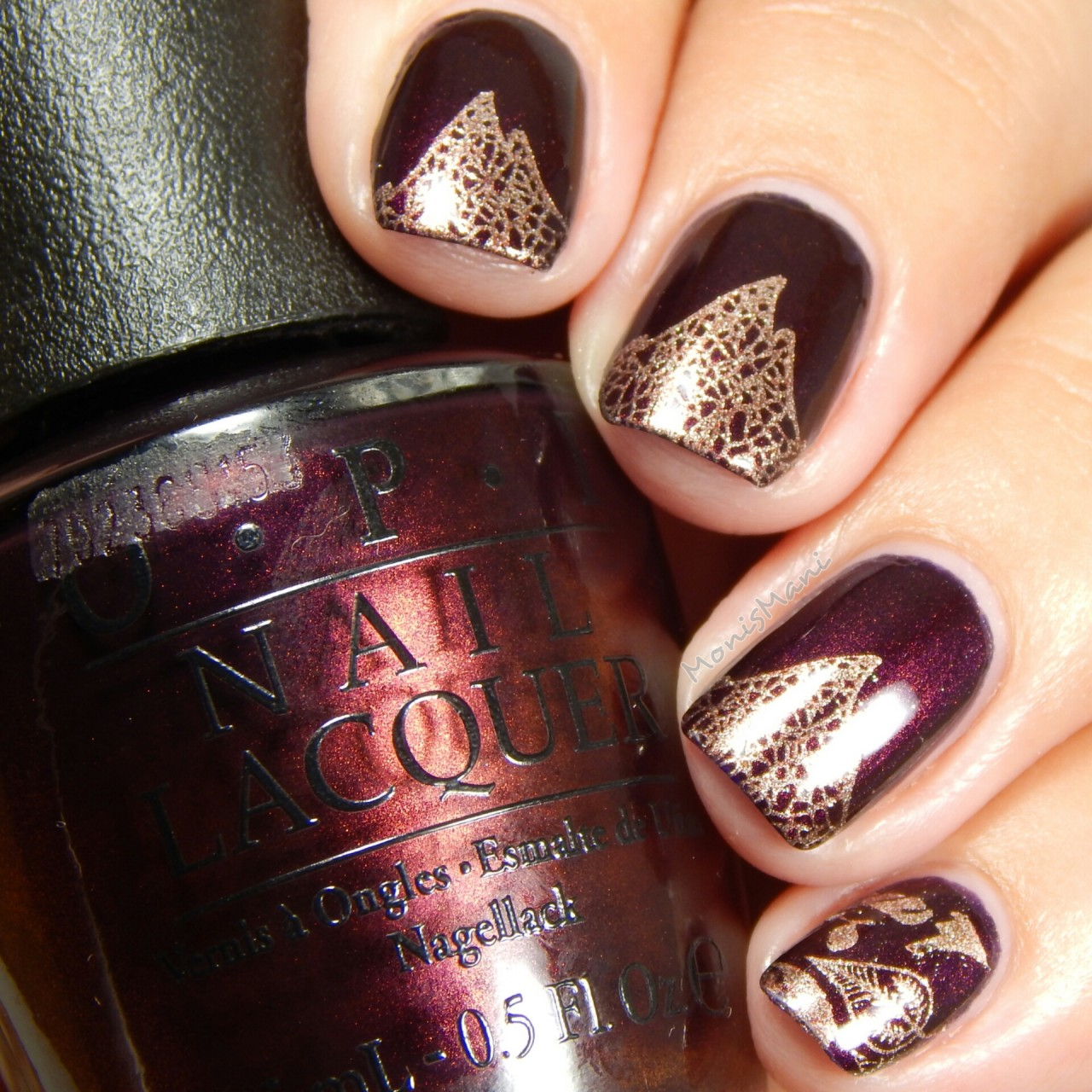 Fall Favorite- OPI Every Month is Oktoberfest | Monismani