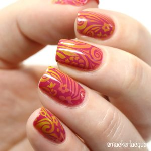 INM Foxy nail art