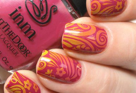 INM Foxy nail art2